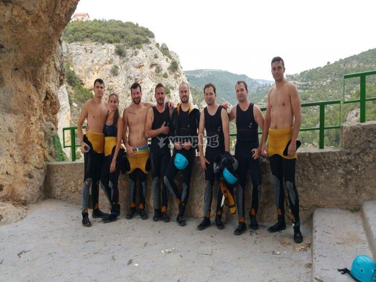 Participantes de la aventura