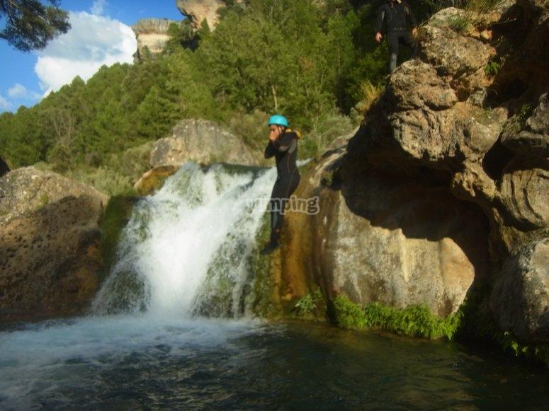 Salto de la cascada