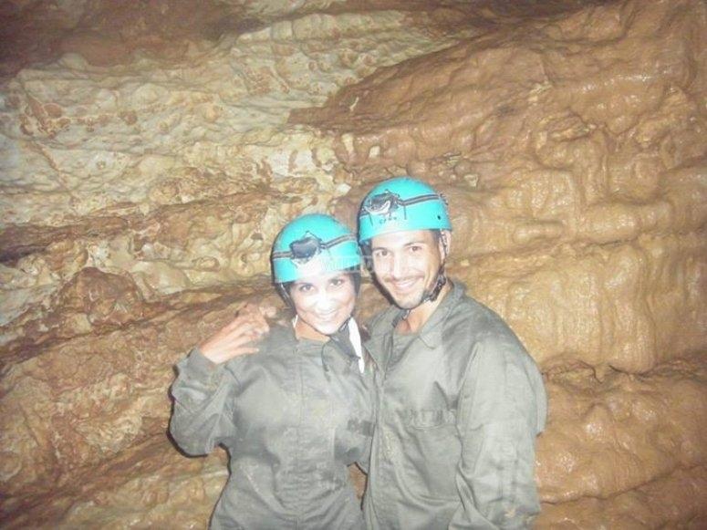 Ruta por la cueva