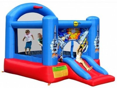 Space model bouncy castle rental in Toledo