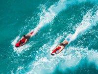 Carrera en seabob por las aguas de Benalmádena