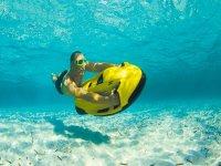 Surcando las profundidades malagueñas en seabob