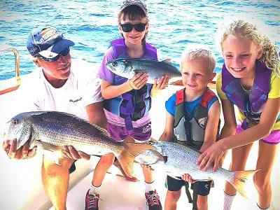 Pesca a fondo grande in Javea giornata intera
