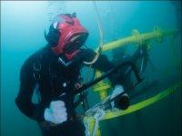 Trabajos subacuaticos profesionales