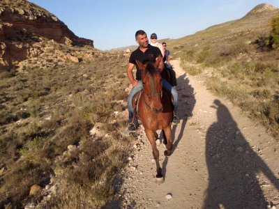 Horse riding tour to Cala de Enmedio - 2h 30m