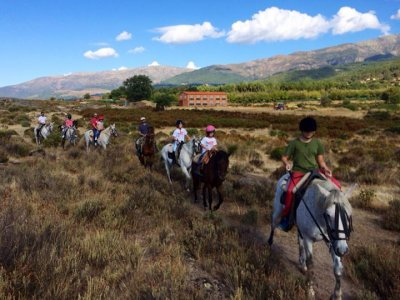 Horse Riding in La Vera + Lunch - 1 hour