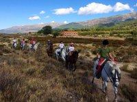 Horse Riding in La Vera + Lunch - 1 hour