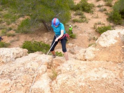 Rappel session in Baza, half a day