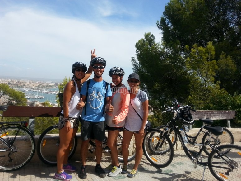 """Excursion en bicicleta Palma Panoramica 4 horas"""