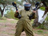 Paintball en campo exterior