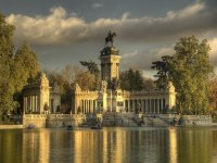Visit to the Retiro Park in Madrid