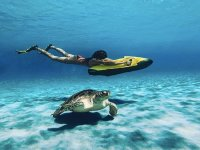 Buceo con scooter subacuática en Benalmádena