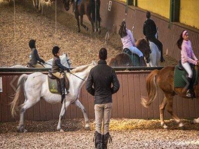 Clase a caballo Sierra de Guadarrama 1 hora