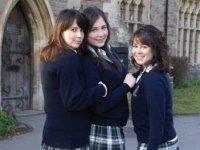 Alumnas de idiomas en el extranjero