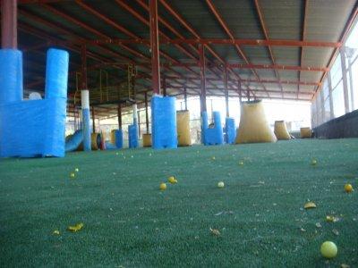 Paintball 100 bolas en Granada con Paella