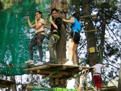 2 circuitos de arborismo en El Valle del Jerte