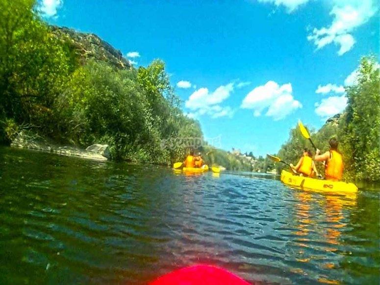 Canoe in Salamanca