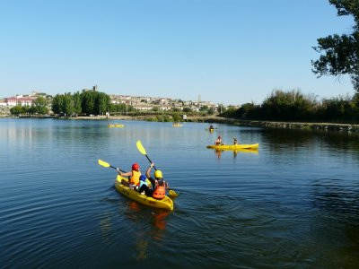 Canoeing by the Tormes, 2 hours, adults