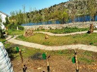 射箭在中世纪类型堡垒Ledesma