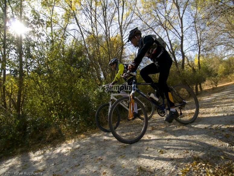 Mountain bike in Lozoya