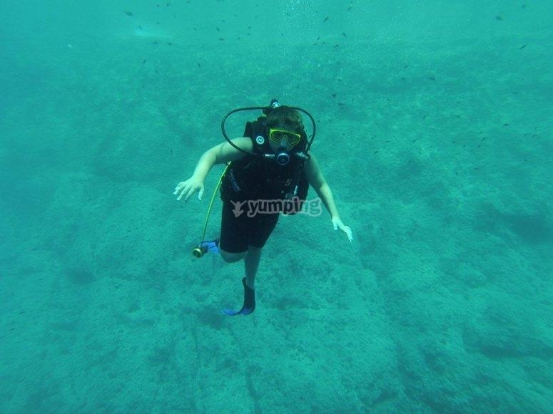Feeling of weightlessness