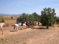 Excursion ecuestre al aire libre