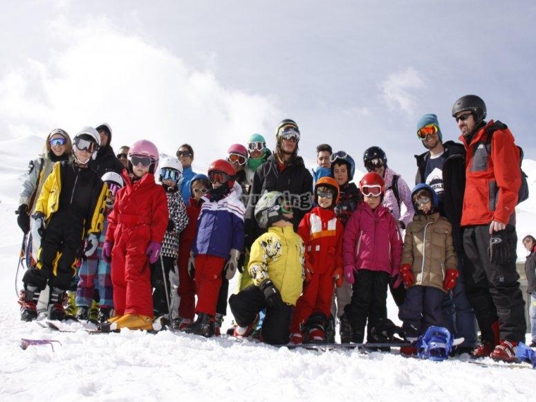 Esqui para peques