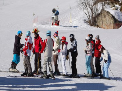Piau Engaly圣母无原罪桥的滑雪度假胜地