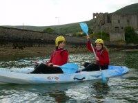Campamentos con kayak