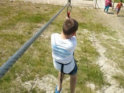 Campamento escolar multiaventura en A Lama 3 días