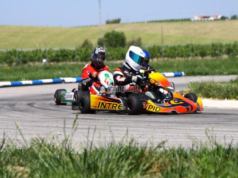 Go-karting for groups