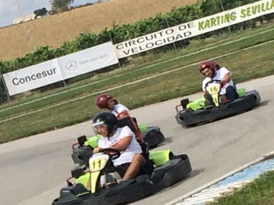 Go-karting GP for groups of 8 to 12