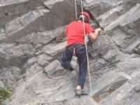 Aprendiendo las claves de la escalada