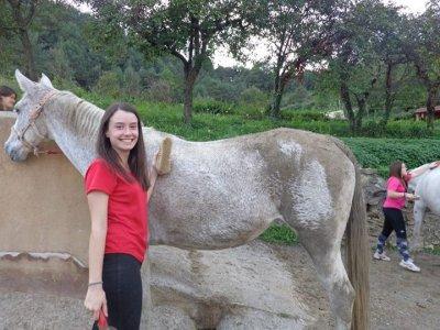 Bono de 10 clases de equitación en Berguedà