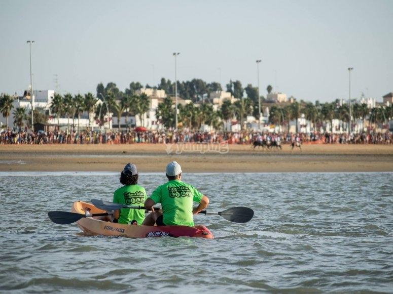 知道皮划艇Doñana的真实性