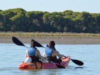 90min Kayaking Between Sanlúcar & Doñana