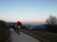 骑马在Berguedà1小时