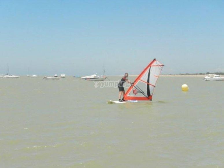 帆板运动课程sanlucar