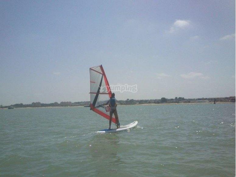 帆板运动sanlucar