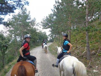 2小时骑马穿越Berguedà