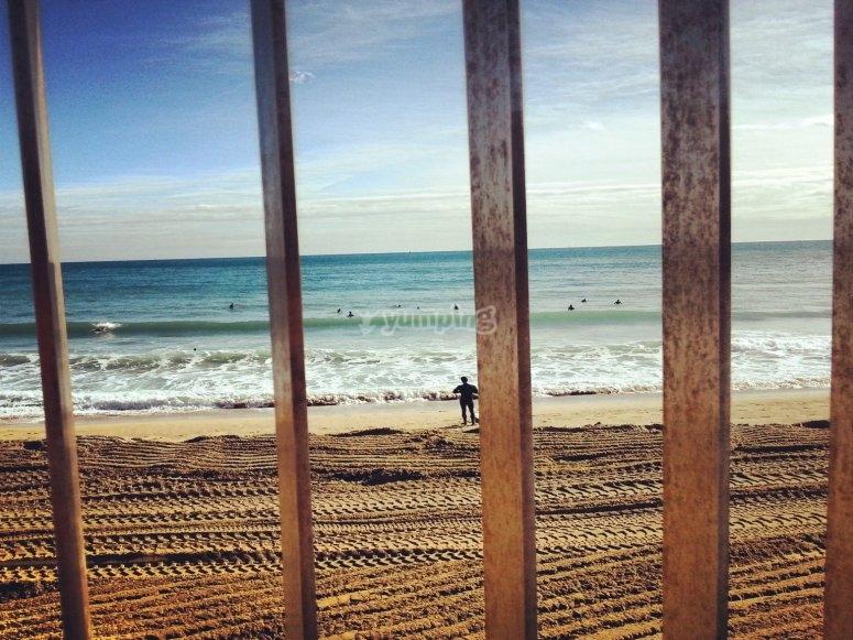 在巴塞罗那的SURF日
