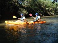 Paseo tranquilo en kayak
