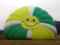 在气球中促进良好的氛围
