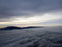 云层的景色