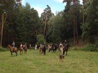 骑马在Ortigosa del Monte 1小时