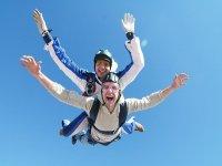 Salto de paracaidismo Tandem