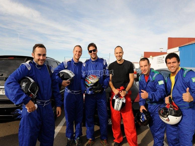 Pilotos de karting