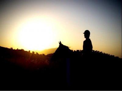 Ruta a caballo Morón 2 horas y media