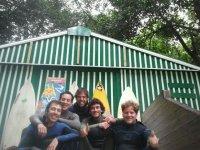 Equipo de Escuela de Surf Arenillas.
