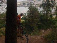 Preparando las cuerdas